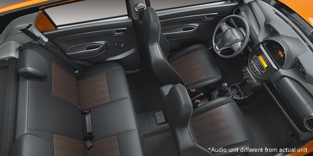 SuzukiALL-NEW S-PRESSO interior